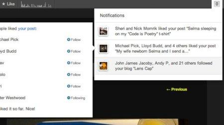 WordPress.com añade notificaciones a su barra de administración