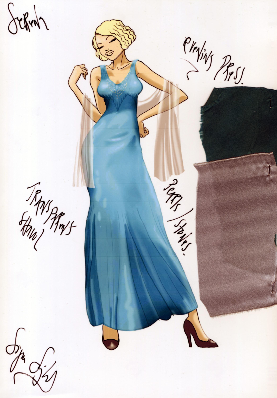 Foto de Jennifer Lawrence nos atrapa con el precioso vestuario de Serena (2/16)