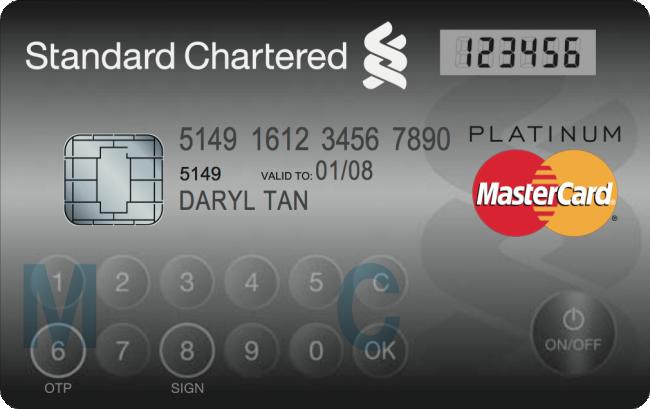 mastercard con pantalla