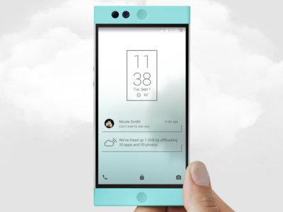 El Nexbit Robin empezará a enviarse en enero, el móvil basado en la nube es una realidad
