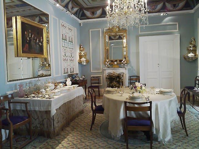Museo del Romanticismo comedor