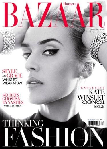 Kate Winslet en Harper's Bazaar: ¿se puede ser más perfecta?