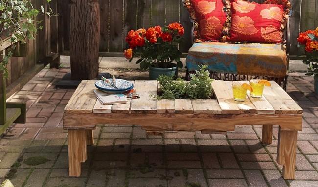 Muebles De Verano Mesa De Jardin