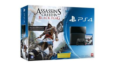 Se confirma lo inevitable: pack de PS4 más 'Assassin's Creed IV: Black Flag' (actualizado)