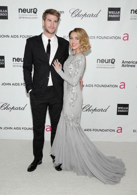 Miley y Liam _Elthon_John