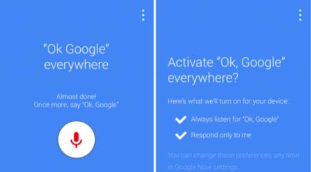 Rumor: Google podría integrar comandos de voz desde cualquier pantalla