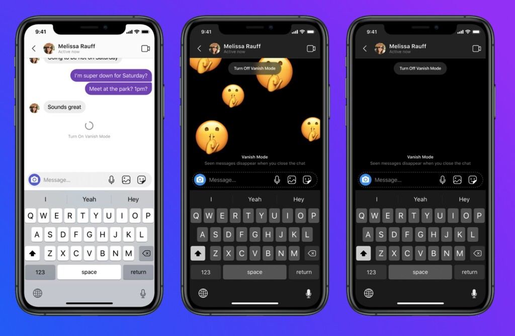 Instagram y Messenger reciben nuevo modo en que los mensajes desaparecen como en Snapchat: así funciona