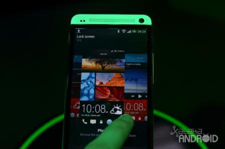 HTC One interfaz