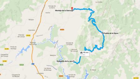 Robledillo de la Jara - Puebla de la Sierra - Montejo de la Sierra