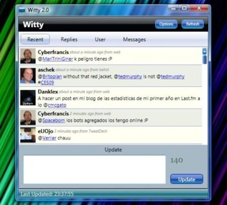 Witty 2.0, el cliente Twitter en WPF para Windows se actualiza