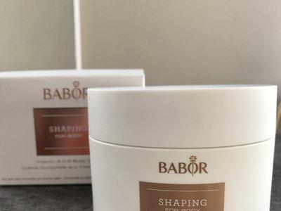 Probamos Shaping for Body de Babor, todo un chute de vitaminas para el cuerpo