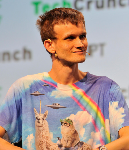 Vitalik Buterin San Francisco Techcrunch Disrupt