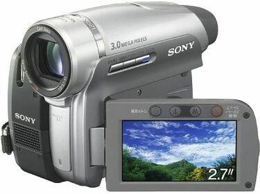 Sony DCR-HC96, grabación en surround con 4 canales