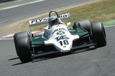 Formula 1 Histórica. Folch, 2º en el Gran Premio de Hungria.