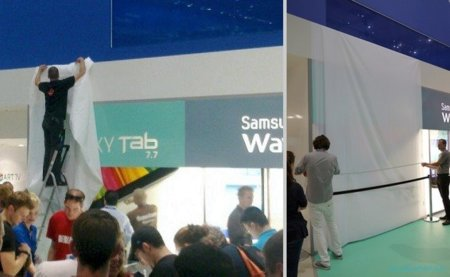 Samsung Galaxy Tab 7.7 retirada del IFA 2011