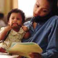 Mamás con estrés