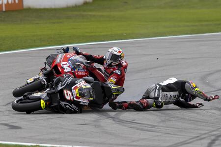 Johann Zarco repite como piloto con más caídas en MotoGP 2020 por delante de Álex Márquez