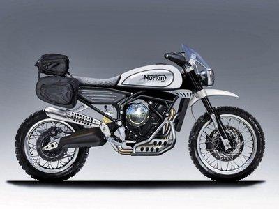 Norton estrenará un motor bicilíndrico de 650 cc en una nueva scrambler que se adelanta al IOMTT
