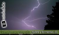 Consejos para fotografiar nubes y tormentas (II)