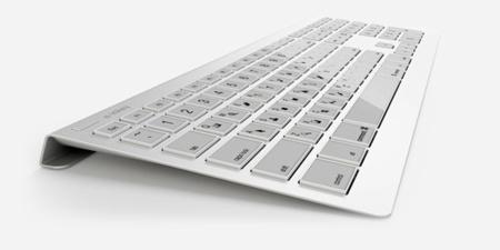 Keyboard eink