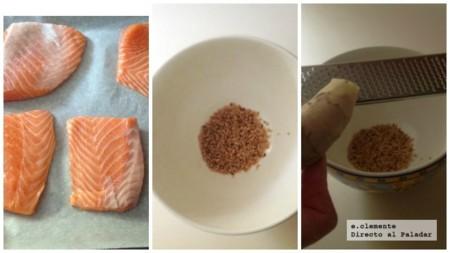 Salmon Mirin Coll