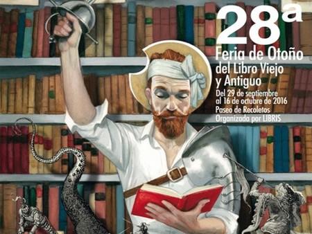 Comienza la Feria de Otoño del libro viejo y antiguo de Madrid ¡Planazo!