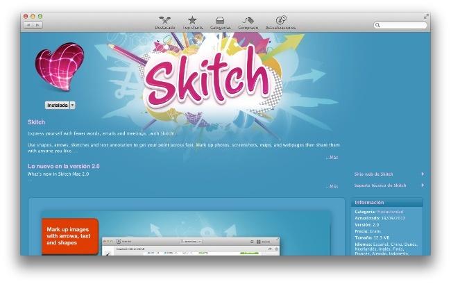 Skitch para OS X