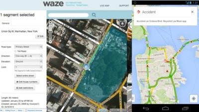 Llega la primera integración entre Google Maps y Waze: reportes de incidentes