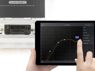 Denon y Marantz lanzan la Audyssey MultEQ Editor app, una aplicación para jugar con la corrección acústica del receptor AV desde el móvil