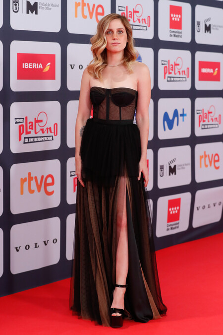 Premios Platino 2021 Natasha Dupeyron