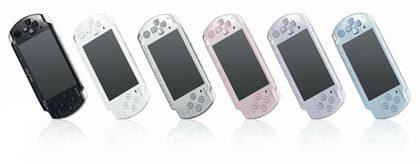Llegan las PSP slim de colores