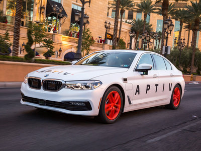 Probamos el taxi autónomo de Lyft en Las Vegas: el futuro ya está aquí
