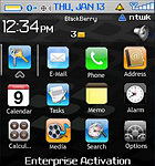 Tema del iPhone en tu Blackberry