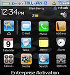 Tema del iPhone en tu Blackberry