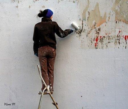 Diez ideas para reutilizar la pintura sobrante