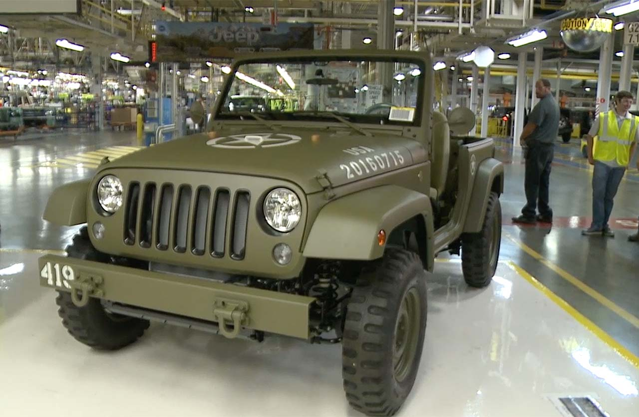 Jeep Wrangler 75th Salute Honor Al Iniciador De Los