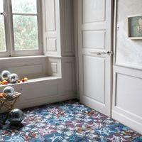 El nuevo proyecto de Stéphane Plassier para la firma Carocim: baldosas caleidoscópicas ilustradas