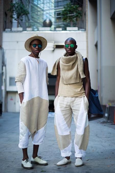 Beige White Men Street Style Spring Summer 2020 Trendencias Hombre 08