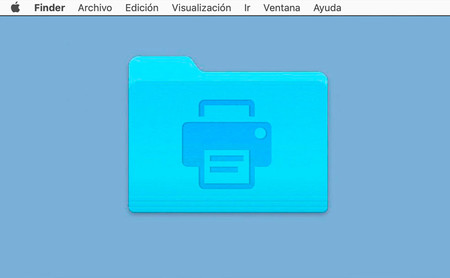 Usa Automator para crear una carpeta de impresión automática