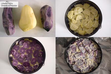 Pastel de Patata. Pasos