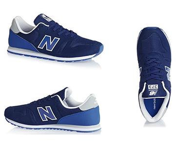 En Amazon tenemos las  zapatillas New Balance 373 en azul por 29,83 euros. Sólo tallas pequeñas