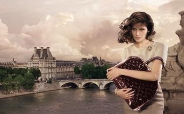 Laetitia Casta para Louis Vuitton por Annie Leibovitz