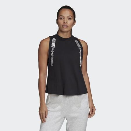 Camiseta Sin Mangas Adidas Graphic Negro Ft6815 21 Model