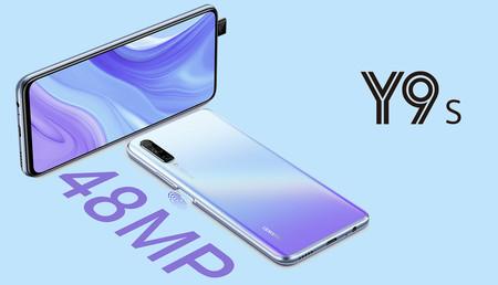 Huawei Y9s llega a México: un ataque más a la gama media, ahora con cámara de 48 megapixeles y más RAM, este es su precio