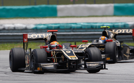 James Calado Esteban Gutierrez Sepang GP2