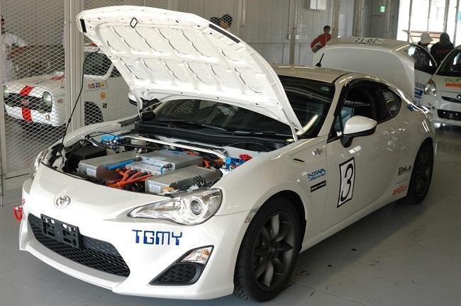 Toyota GT-86 eléctrico