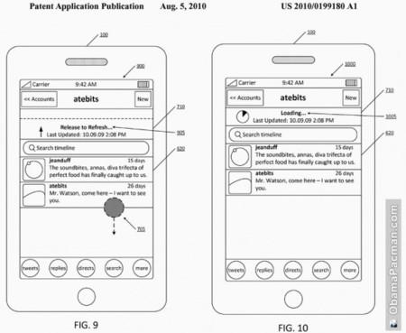 """Twitter patenta el gesto """"deslizar para actualizar"""" en aplicaciones móviles"""