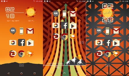 Android Iconos Vintage