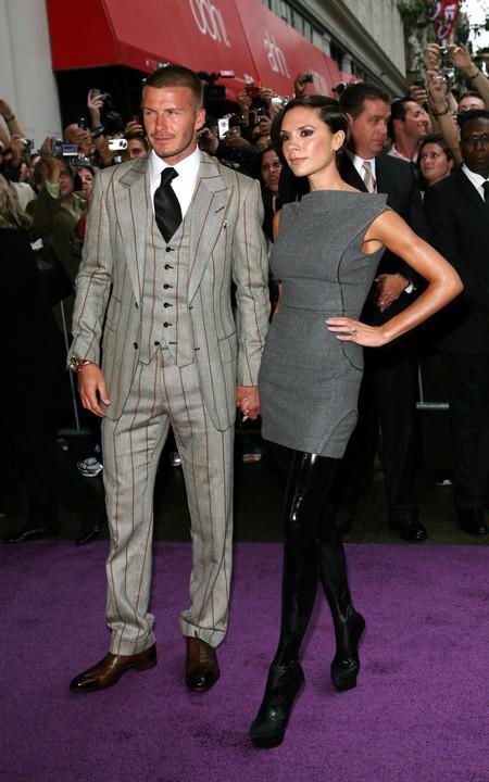 David Y Victoria Beckham 20 Aniversario Boda 2008