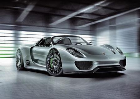 Porsche 918 Spyder Concept, deportividad con consumos de utilitario